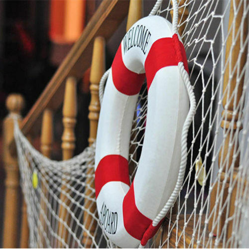 Wall Hanging Lifebuoy Ring Boat Nautical Crafts For Home Decoration Popular Good