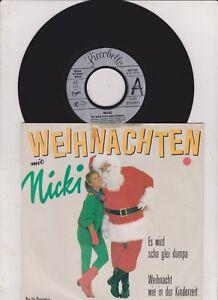 Single Weihnachten.Details Zu Nicki Weihnachten Mit Es Wird Scho Glei Dumpa 7 Promo Single Mint