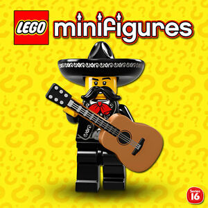 LEGO-Minifigures-71013-Serie-16-Le-Mariachi-Mexicain-NEW-SEALED