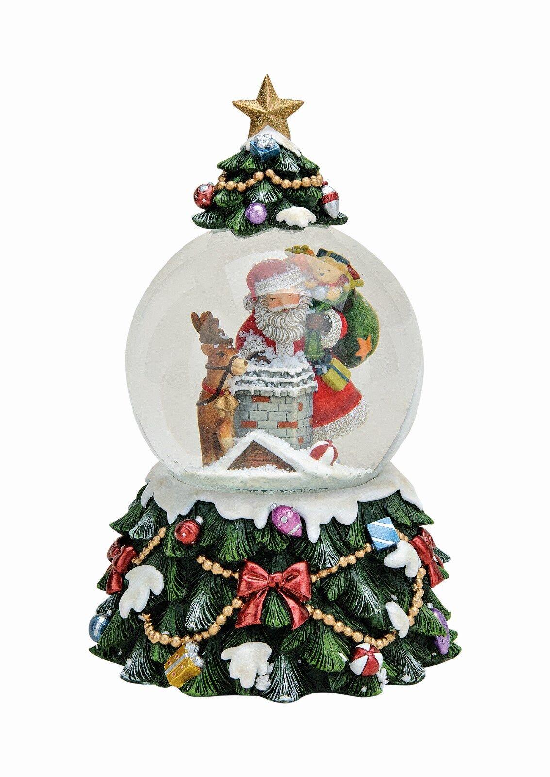 Grande boule de neige, Boîte musique, à musique, Boîte Noël, Déco, Nikolaus Avec Tourbillon, f49aa2