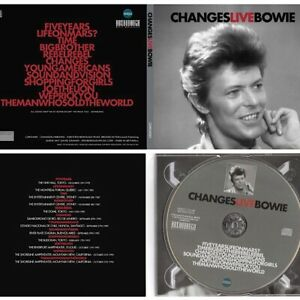 DAVID-BOWIE-CHANGESLIVEBOWIE-Ltd-numbered-1000-compact-disc-digipack-rare