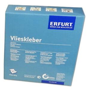 Erfurt-Vlieskleber-500-g-Kleister-fuer-Vliestapete-Variovlies-Eco-Vlies