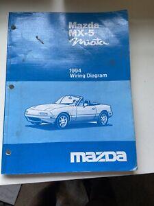 Mazda Miata Mx5 Wiring Diagram. 1994 | eBay