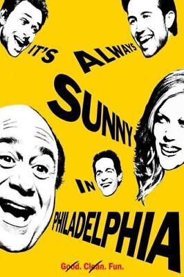 It/'s Always Sunny in Philadelphia TV Silk Canvas Poster Print 12x18 24x36 inch