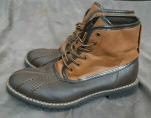 Sonoma Mens Duck Boot Size 10.5M Brown