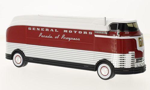 GM Futurliner, GM Parade of Progress, 1:43, Truescale Miniatures