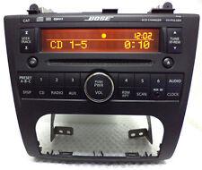 07 08 09 NISSAN Altima BOSE AM FM Radio 6 Disc Changer CD Player Ipod Aux input
