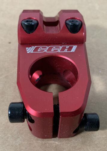CCH BMX Pro SuperLite 1 1//8 Threadless Racing Stem 53mm