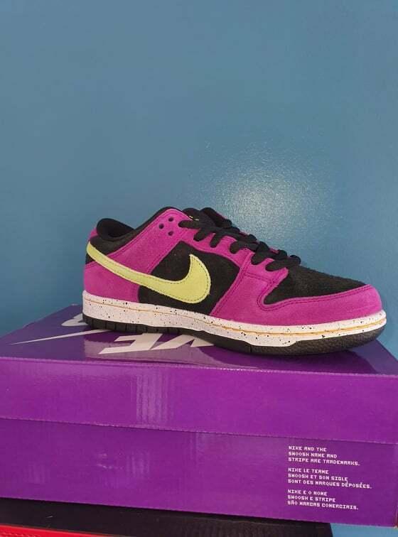 Nike Dunk SB Low Pro ACG Terra Red Plum UK4 ✅