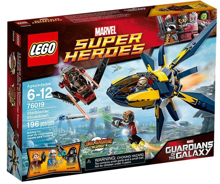 LEGO® Marvel Super Heroes 76019 Starblaster Showdown NEU OVP NEW MISB NRFB