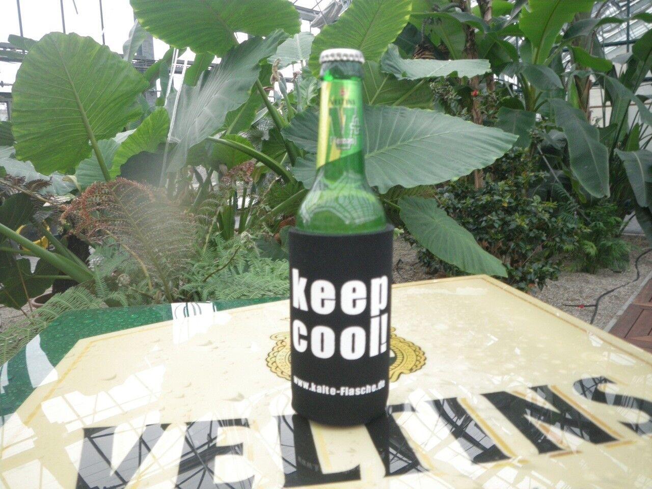 200 schwarze Flaschenkühler für 0,33l Flaschen VERSANDKOSTENFREI