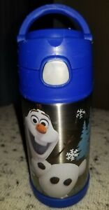 Thermos-Insulated-Kids-Funtainer-Bottle-12-Hr-Hot-Cold-12oz-Handle-Olaf-Frozen