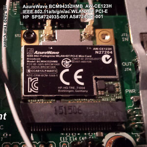 1x-HP-T620-BCM94352HMB-WIFI-802-11ac-Card-724935-001-plus-Thin-Client-Antenna