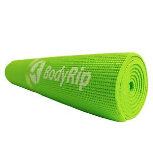 Estera-Yoga-para-Pilates-Ejercicio-Gimnasio-6mm-Verde-Antideslizante-Acolchado