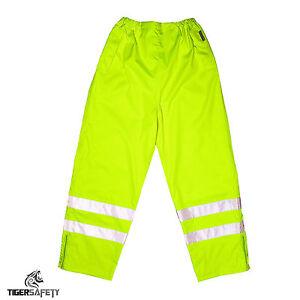 Impermeable Amarillo Pantalones Transpirable Visibilidad Flex Alta Proforce vZFxE