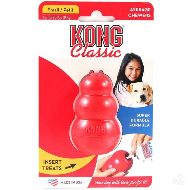 Kong Classic Dog Toy Small Red Stuffable - OZ Seller