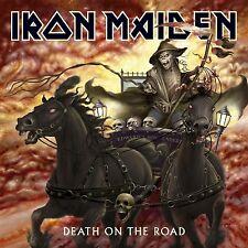IRON MAIDEN 'DEATH ON THE ROAD (LIVE)' 2 LP VINYL NEW+