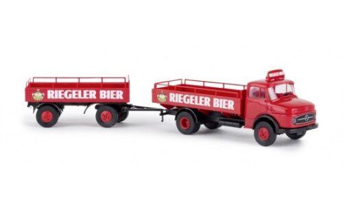 Brekina Mercedes L 322 Riegeler Bier #47125 1:87