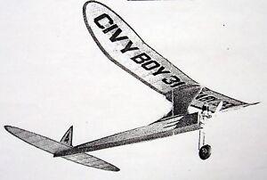"""CIVY BOY 41"""" PLAN My 133% Enlargement of A Civy Boy 31"""" OT ..."""