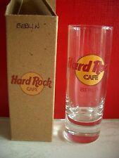 HRC Hard Rock Cafe Berlin Classic Logo Red Letter Shot Glass Schnapsglas