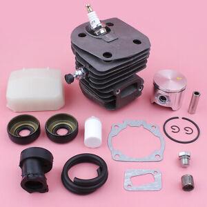 Kit de piston de cylindre Pour Husqvarna 346XP 350 351 353 Filtre à air 44mm
