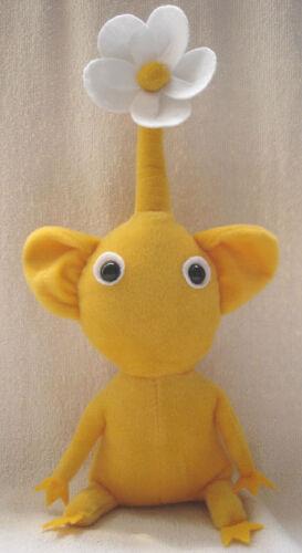 "Lot of 2pcs 12/"" Handmade PIKMIN 2 Plush Doll Yellow Flower Toy X/'MAS Gift"