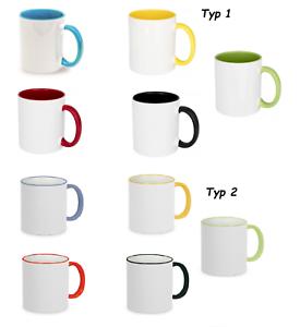 IhrBild24 1x farbige Fototasse Bedruckt nach Wunsch Geschenk Verein Werbeartikel