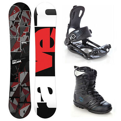Snowboard Raven Decade +Bindung Raven Fastec FT270 M/L/XL +Boots Northwave Force