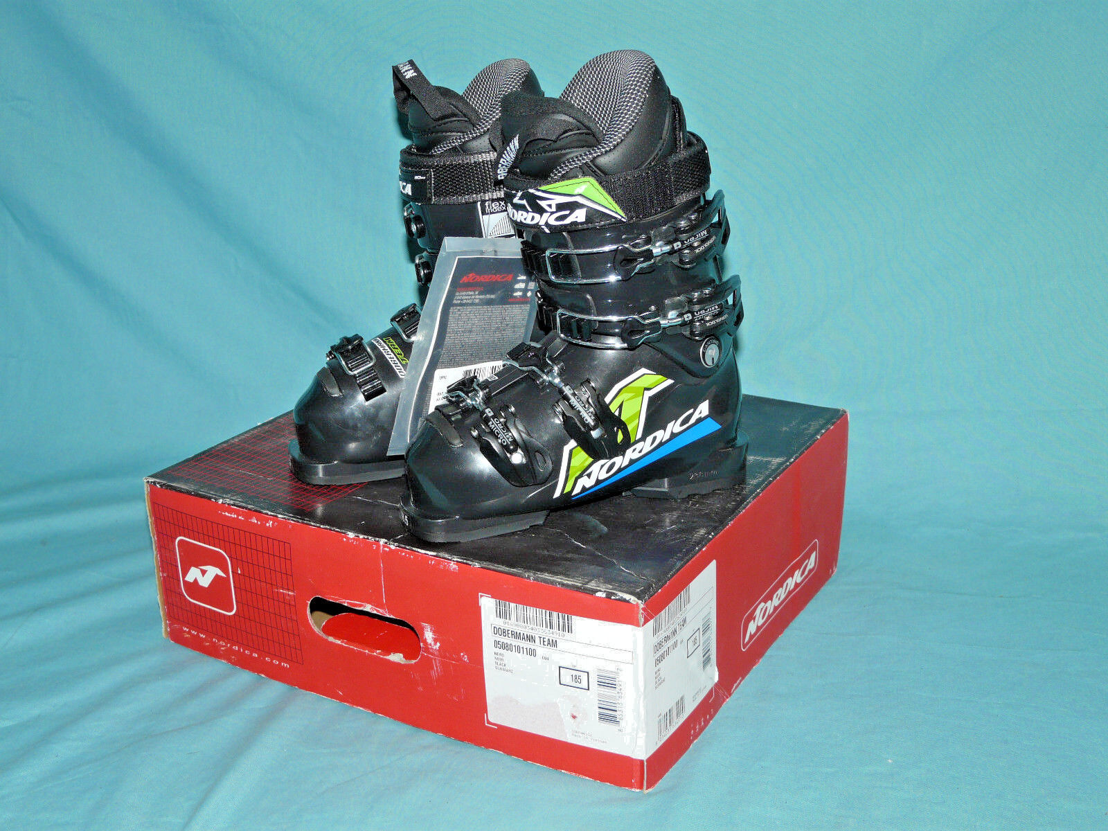 NORDICA Dobermann TEAM Kids Youth Race Ski BOOTS size 18.5, 238mm NIB  NEW