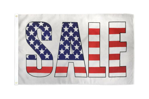 Sale Flag 3x5ft Sale Banner Sign Bandera de Venta Sale Here Flag Patriotic Sale