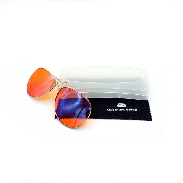 Blue Light Blocking Clip On Glasses - Natural Sleep Aid - Eye Strain - For  Sleep
