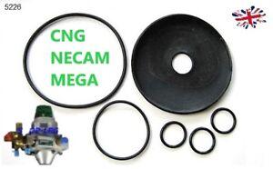 Necam koltec MEGA RIDUTTORE Riparazione Set Membrane Kit di Fissaggio GPL GPL Autogas