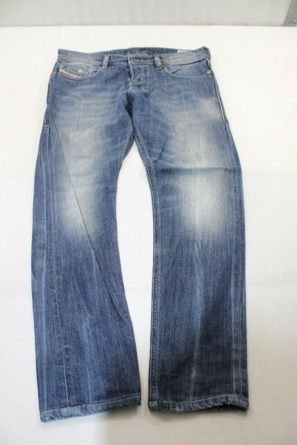 J6493 Diesel Tepphar Slim-Carrot Wash 0880K_Stretch Jeans W31  Blau  Sehr gut