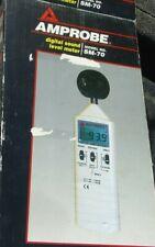 Amprobe Sm 70 Digital Sound Level Meter In Box