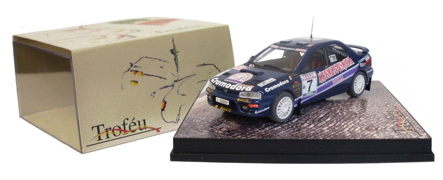 Trofeu 615 Subaru Impreza San Remo Rally 1995 - M Biasion 1 43 Scale