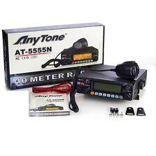 Radio CB Anytone at5555n 10 o 11 METRI AM FM SSB esportazione 30w versione 25.610-30.1