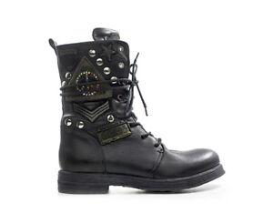 Rl260045l Frau Ne Replay Zu Schuhe Details Nero EIW29DHY