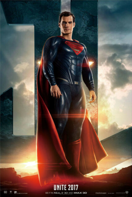 Art Poster Justice League DC Movie Marvel Superhero Superman 40in Wall Silk N378