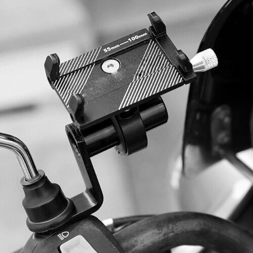 Motorrad Rückspiegelhalterung Extender Bracket Holder Clamp Bar Handyhalter 0 HN