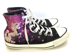 Star Unicorn Purple Sneaker Women 8 Men