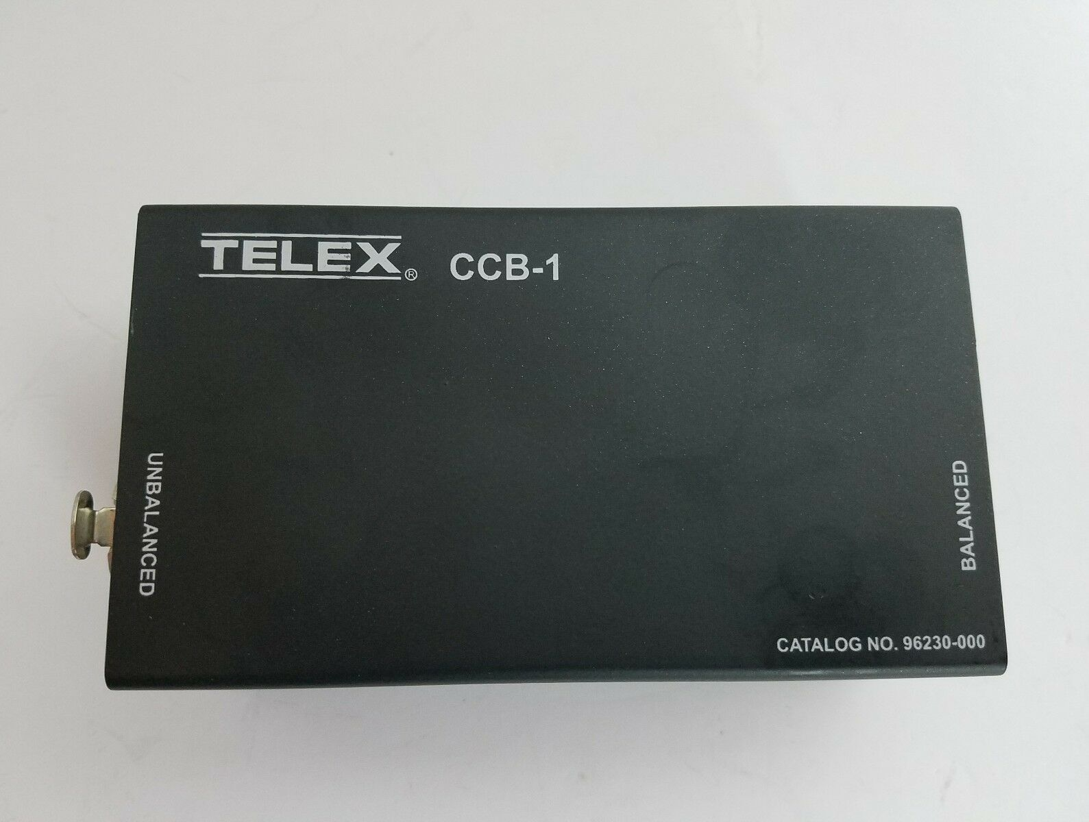 Telex CCB-1 Balanced Audiocom to Unbalanced Clear-Com Interface Intercom