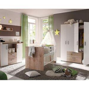 Babybett babyzimmer komplett wickelkommode kinderzimmer for Babyzimmer komplett angebot
