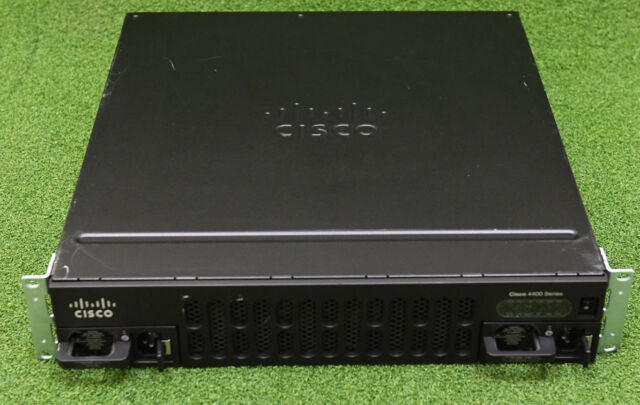 CISCO ISR4451-X-AX/K9 Security Appx Integrated Service Router Dual AC ISR4451-AX