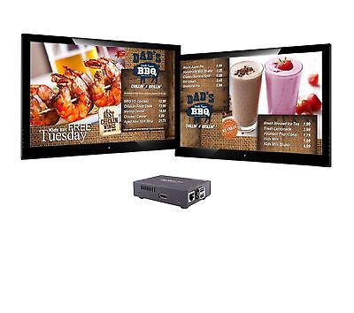 DigiMenuPro - HDMI Digital Signage Player, 8GB Memory, with SaviSign Software