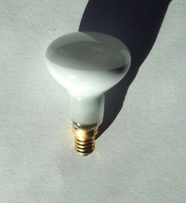 Case of 9 Incandescent Spotlight Light Bulbs R16-130 v 40 w by Globe