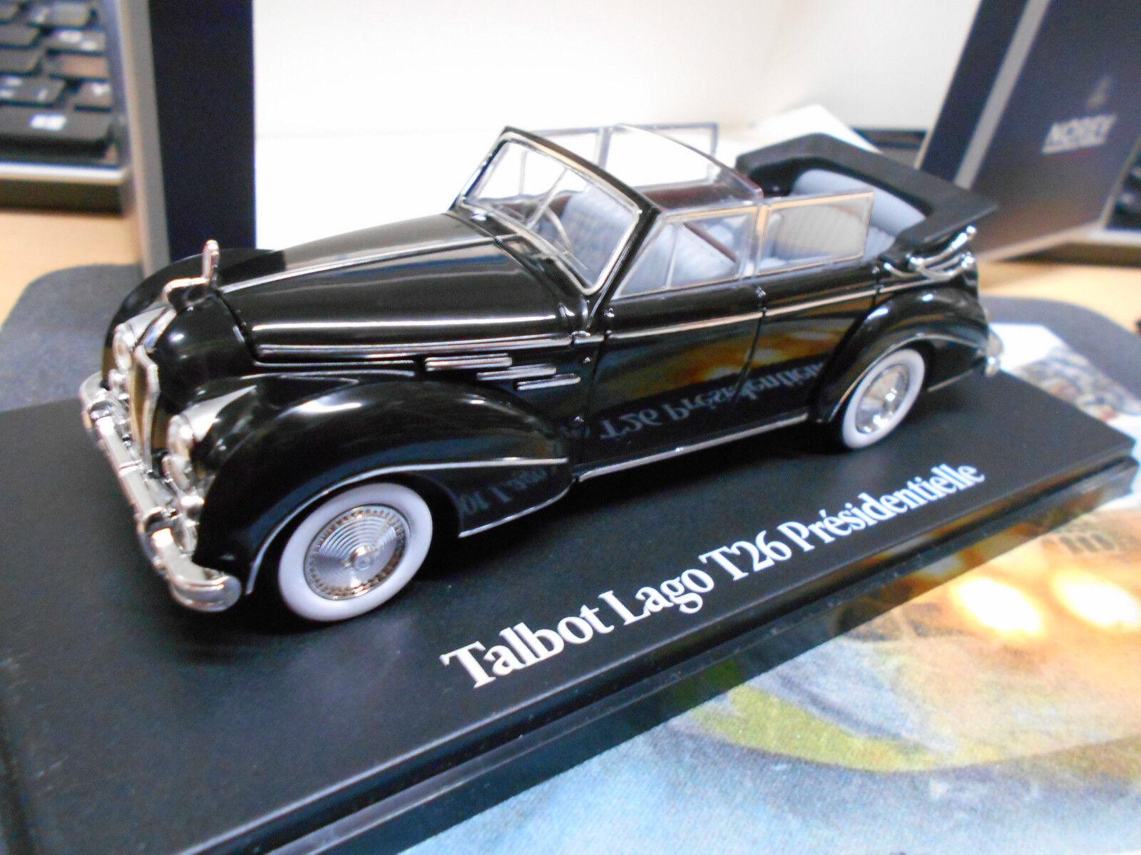 Talbot lago t26 presidentielle vincent Auriol 1950 Oldtimer NOREV 1 43