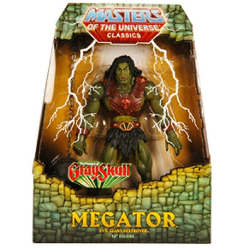 Meister des universums - klassiker megator actionfigur mattel motu