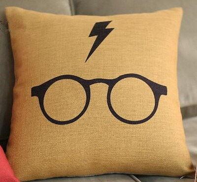 Cotton Linen Cushion Cover Pillow Case Harry Potter