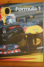 Rare Official F1 Season Review 2011 Heavy Top Quality Edition for F1 Fans Mint