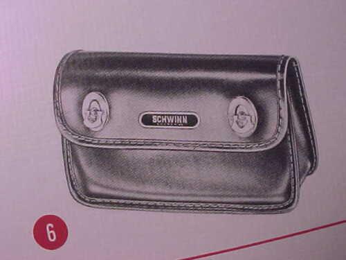 Schwinn Approved Stingray Bicycle Tool Bag Tag head badge nameplate nos oem